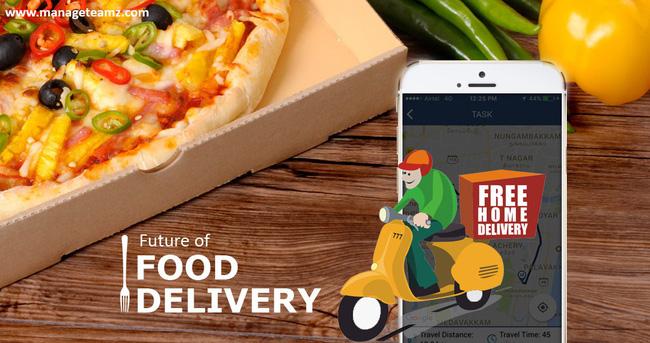 Dịch vụ giao thức ăn nhanh tại nhà giải quyết cho bất tiện đường phố.