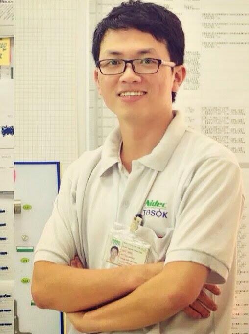 Nguyễn Tuấn MEC thời còn làm kỹ sư cơ khí ở công ty Nhật