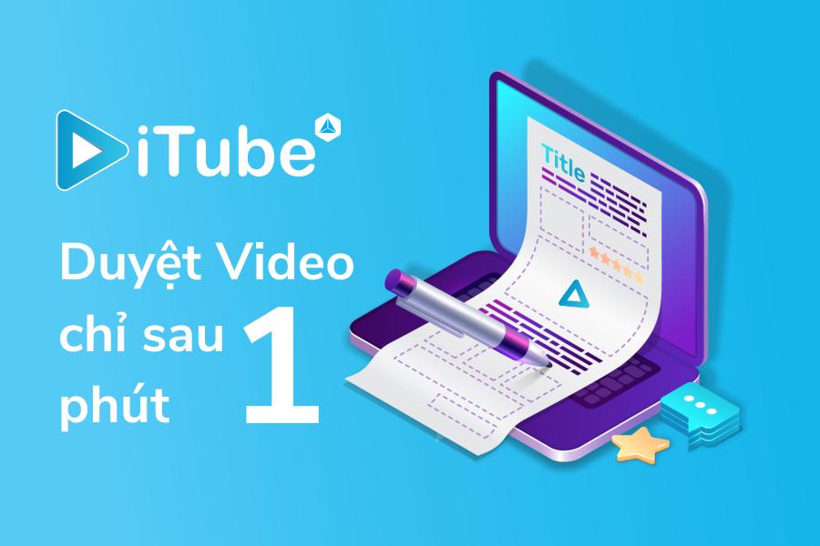 Duyệt Video YouTube nhập vào iTube nhanh chóng